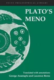Plato. - The Meno