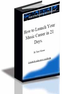 How to Launch Your Music Career in 21 Days cover