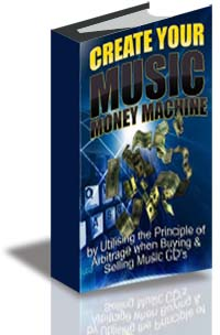 Create Your Music Money Machine cover