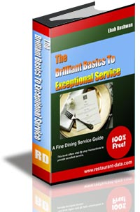 The Brilliant Basics to Exceptional Restaurant Service- Free E Book
