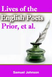 Lives of the English Poets: Prior, et al.