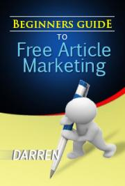 Beginners Guide To Free Article Marketing cover