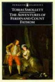 The Adventures of Ferdinand Count Fathom cover
