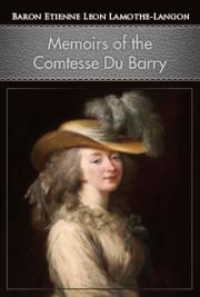 Memoirs of the Comtesse du Barry cover