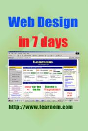 Web Design in 7 Days Tutorial cover