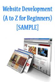 Website Development (A to Z for Beginners) [SAMPLE]