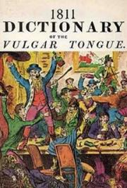1811 Dictionary of the Vulgar Tongue cover