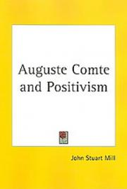 Auguste Comte and Positivism cover