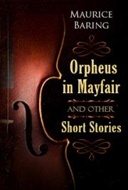 Orpheus in Mayfair and Other Short Stories