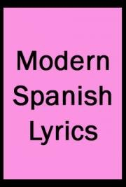 Modern Spanish Lyrics