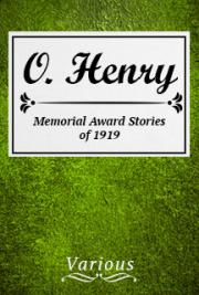 O. Henry Memorial Award Stories of 1919 cover