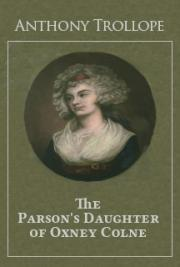 The Parson's Daughter of Oxney Colne cover