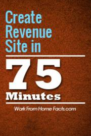 Create Revenue Site in 75 Minutes