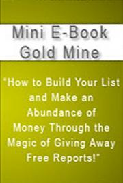 Mini eBook Gold Mine cover