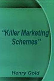Killer Marketig Schemes cover