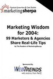 Marketing Wisdom For 2004