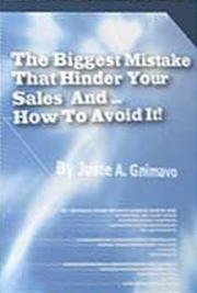 The Biggest Mistake That Hinder Your Sales and How to Avoid it