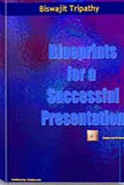 Blueprint for a Successful Presentation cover