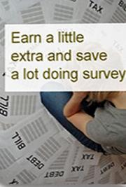 Earn a little extra and save a lot doing surveys cover