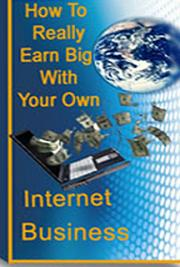 How  to Really Earn Big with Your Own Internet Business