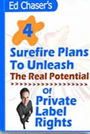 4 Surefire Plans to Unleash the Real Potential of Private Label Rights