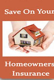 Save On Your Homeowners Insurance