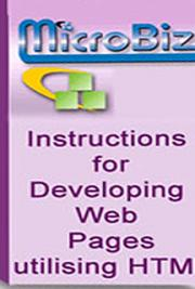 Developing Web Pages Using HTML
