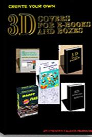 3-D Covers for E-Books and Boxes