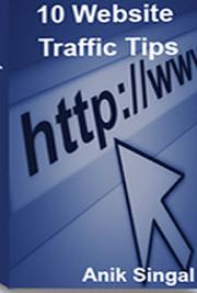 10 Website Traffic Tips cover