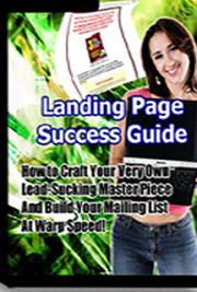 Landing Page Success Guide cover