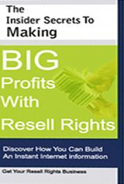 The Insider Secrets to Making Big Profits With Re-Sell Rights