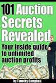 101 AUCTION SECRETS REVEALED cover