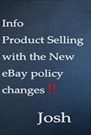 Info Product Selling with the New eBay Policy Changes