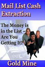 Mail List Cash Extractor