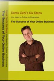 Six Steps You Need to Follow to Guarantee the Success of Your Online Business! cover