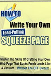 Write Your Own Lead-Pulling Squeeze Pages