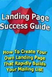 Landing Page Success Guide to Millions ! cover