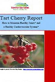 Tart Cherry Health Report