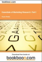 Essentials of Marketing Research: Part I