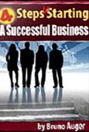 4 Steps to Starting a Successful Business