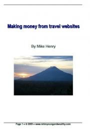 Making Money from Travel Websites cover