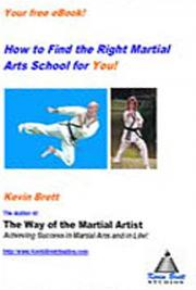 Finding the Right Martial Arts School for You!