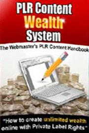 PLR Content Wealth System