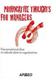 Provocative Thoughts for Managers