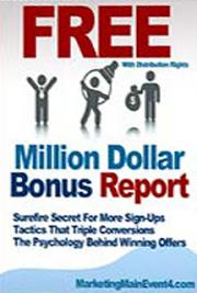 The Million Dollar Bonus Report