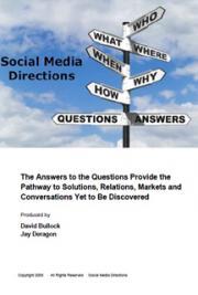 Social Media Directions