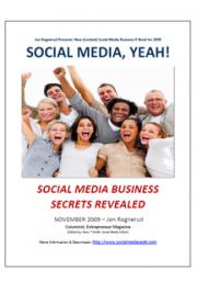 Social Media Marketing Secrets for Online Business cover