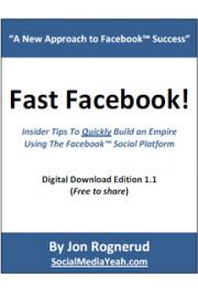 Fast Facebook! - 30 Minutes To Facebook Domination cover