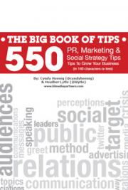 550 PR, Marketing & Social Media Tips cover