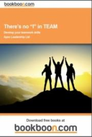 "There's No ""I"" in TEAM"